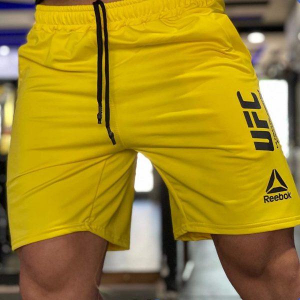 شلوارک ufc زرد
